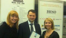 Naša sesterská klinika NeoVize Brno patrí k TOP stovke spoločností mesta Brno