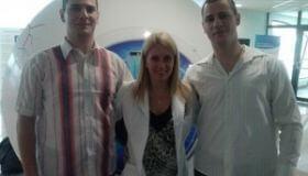 Jednovaječné dvojičky Štefan a Tomáš (28) po NeoLASIKu HD:  Pre NeoLASIK HD sa rozhodli kvôli práci v polícii