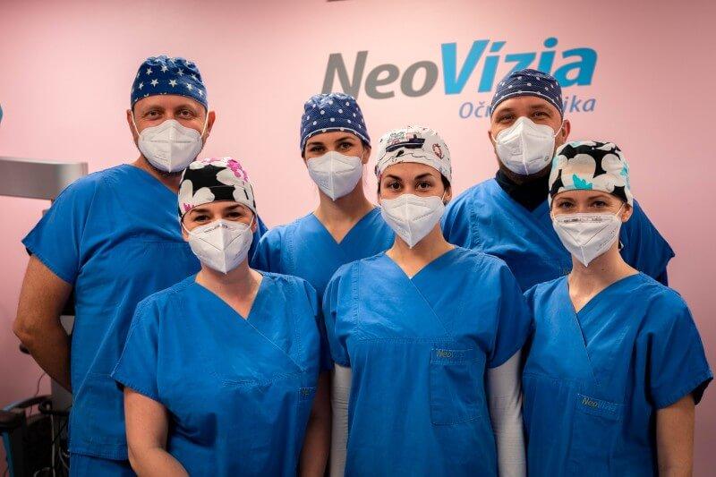Prvá operácia so šošovkou VIVITY na Slovensku