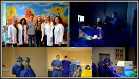 """Študenti medicíny Andrea a Jozef na jednodňovej stáži v NeoVízii:  """"V NeoVízii sme objavili prostredie, po akom sníva každý lekár"""""""