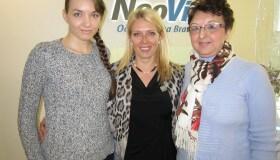 """Daniela Časniová (NeoLASIK HD) a jej mama Margita Časniová (operácia sivého zákalu)  """"Môj nový zrak je pre mňa zázrakom"""""""