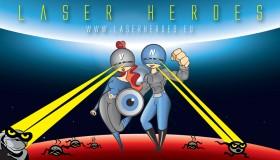 NeoVízia vám predstavuje svojich maskotov:  Neo a Vízia: spoznajte našich Laserových hrdinov