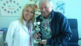 """Lyžiarsky pretekár Zoroslav Martinec (75) po operácii sivého zákalu: """"Dva mesiace po operácii som vyhral ďalšiu zlatú medailu."""""""