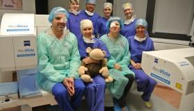 Momentka z operačných sál pod vedením MUDr. Adriany Smorádkovej
