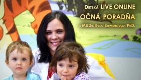 Detská ONLINE OČNÁ PORADŇA už v stredu 8.7.2015 (12.00 - 13.00)