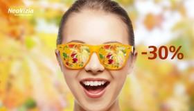 Jesenné zľavy na slnečné okuliare až 30%