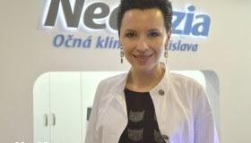 """MUDr. Julia Belinska: """"V NeoVízii je pre lekára radosťou a cťou pracovať."""""""