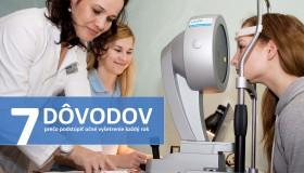 7 dôvodov, prečo by ste mali podstúpiť očné vyšetrenie každý rok