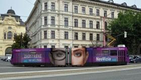 Bratislava má prvú očnú električku, v ktorej sa môžete sami vyšetriť
