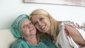 Mama MUDr. Smorádkovej po operácii sivého zákalu Mária Kováčová (69): Konečne vidím každý detail