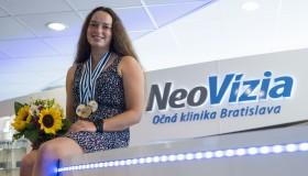 Juniorská vodná slalomárka Soňa Stanovská:  Dokonalý zrak mi pomáha zlepšovať výkony