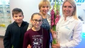 """Ewa Anna Urdziková po operácii keratokonusu:  """"MUDr. Adriana Smorádková mi doslova zachránila zrak."""""""