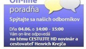 ON-LINE PROADŇA 4. júna 2012 s Henrichom Krejčom