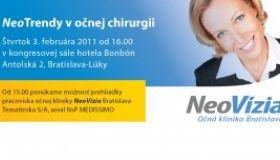 Seminár NeoTrendy 2001 už vo štvrtok 3. 2. 2011