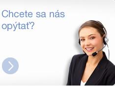 Chcete sa nás opýtať? Volajte +421 911 345 110