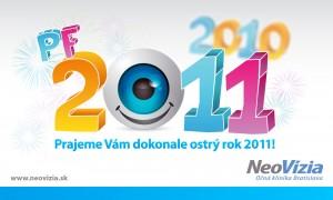PF 2011 - NeoVízia Očná klinika Bratislava