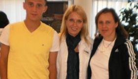 Jana Žáčková (40), Erik Žáček (16), Malacky