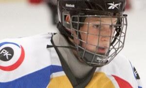 Michal Michal, juniorský hokejista