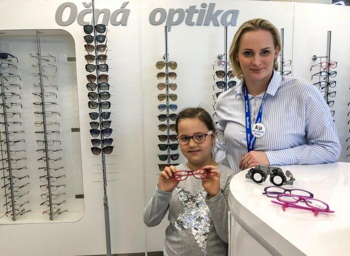 f08351230 Detská očná optika a detské dioptrické okuliare